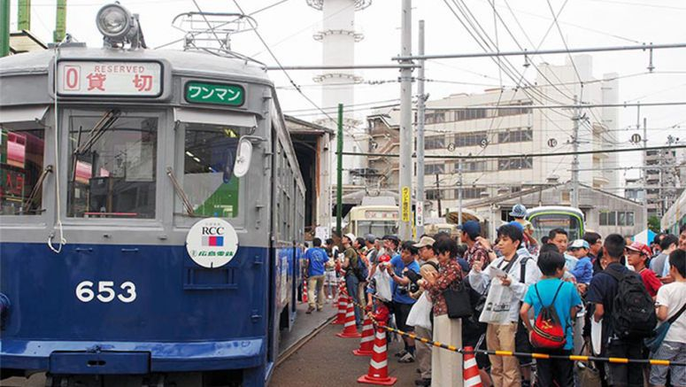 Hiroshima streetcar to resume services to convey horrors of A-bomb