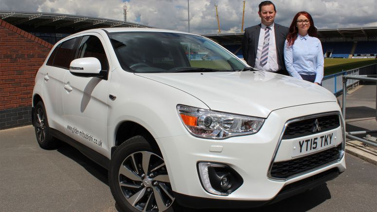 Mitsubishi : Chesterfield Dealership Aiming For Football Success