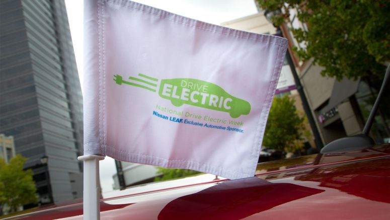EV sales leader Nissan extends sponsorship of National Drive Electric Week through 2017