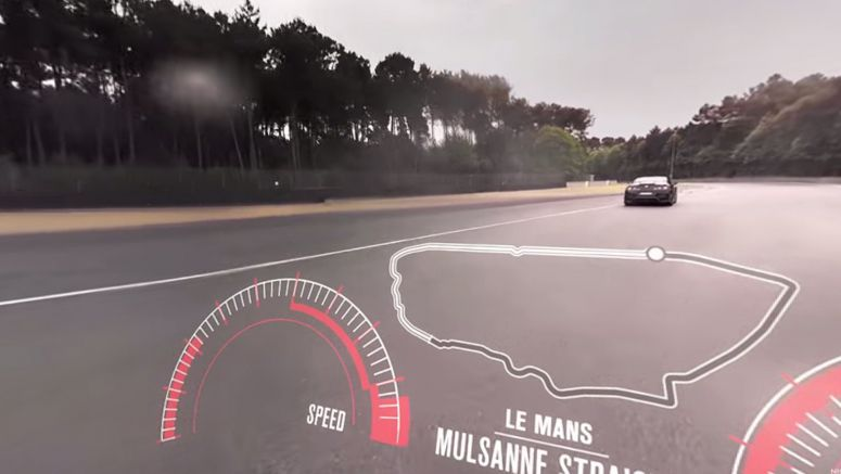 Video : Watch a Nissan GT-R run Le Mans in 360-degree video