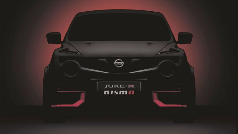 Nissan Will Bring Juke-R Nismo At Goodwood, Could Get GT-R Nismo's 592HP Engine