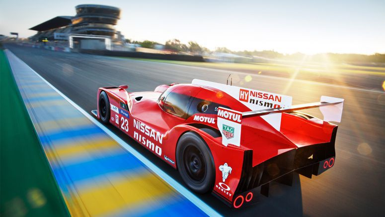 Nissan returns to Le Mans with the Nissan GT-R LM NISMO