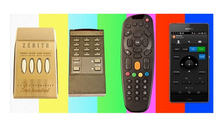Sony : The Evolution of the TV's Remote Control