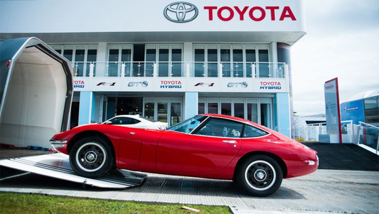 Toyota 2000GT arrives at Goodwood Festival of Speed