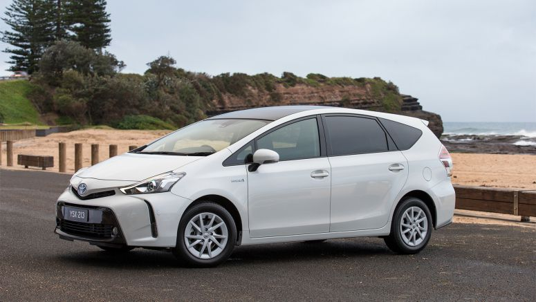 Toyota Prius V : Improved Safety, Style And Driving Pleasure