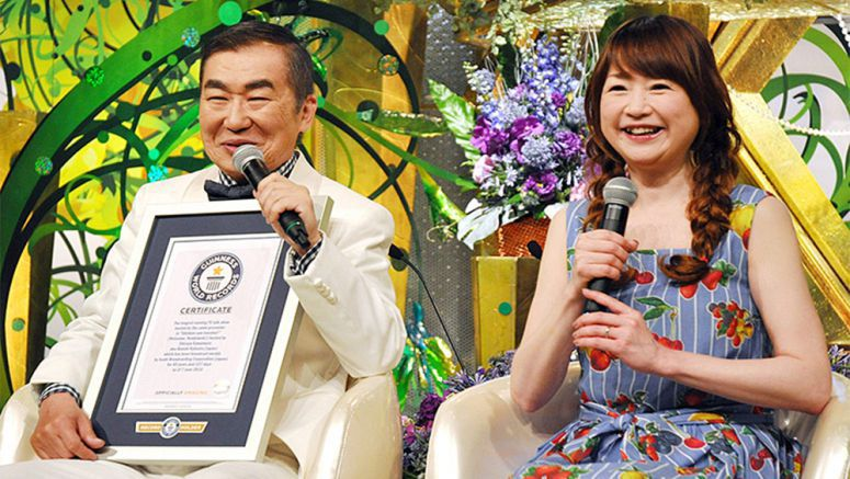 Rakugo master's long-running TV show earns Guinness World Record