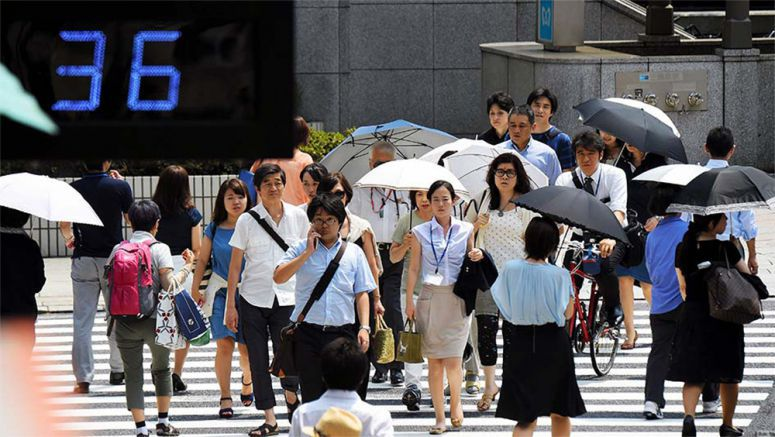 Deadly heat wave kills 32 across Japan in a week, 11,219 sent to hospitals