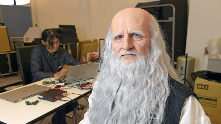 Leonardo da Vinci rebooted as robot by Osaka University team