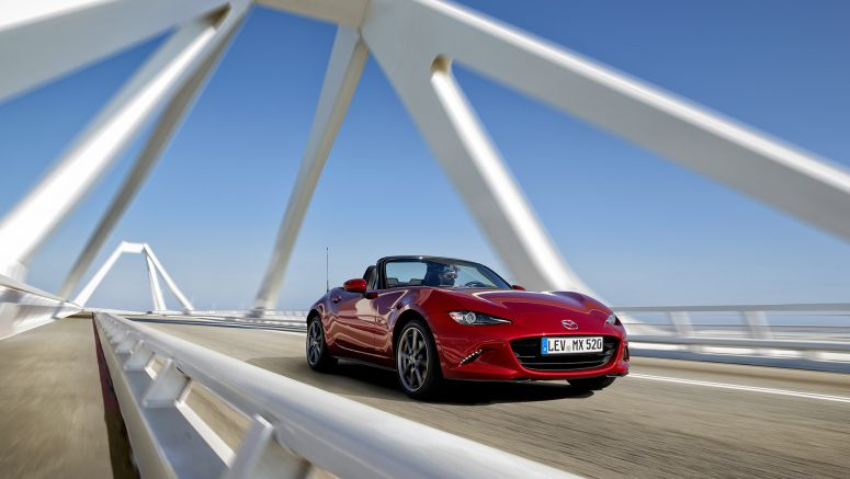 Progressively traditional: the all-new Mazda MX-5