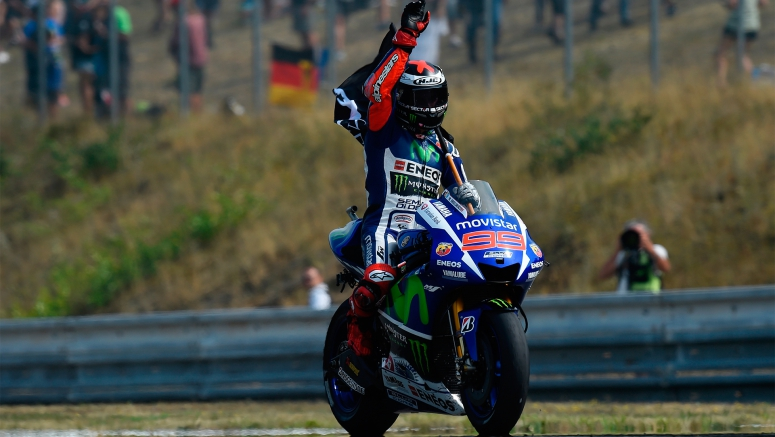 Yamaha MotoGP : Lorenzo Masterclass Seals Double Podium at CzechGP Brno 2015