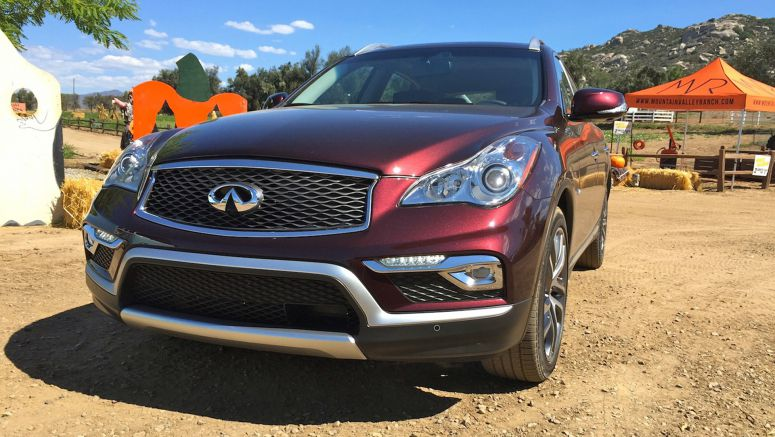 2016 Infiniti QX50 Returns From Camp Longer, Taller