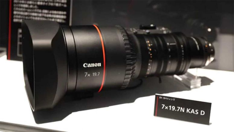 Canon Cinema EOS System 8K camera and professional-use 8K reference display