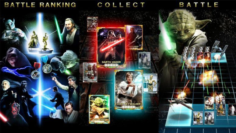 KONAMI Star Wars: Force Collection for Android & iOS Special Card Packs