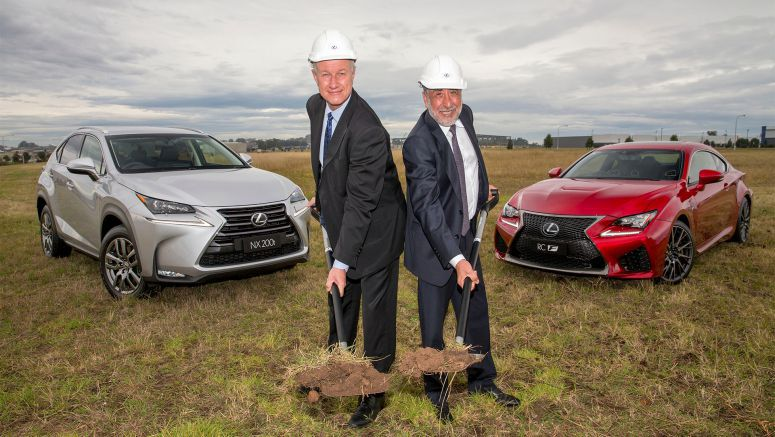 Lexus Dealer Network Expands To Sydney's Booming West