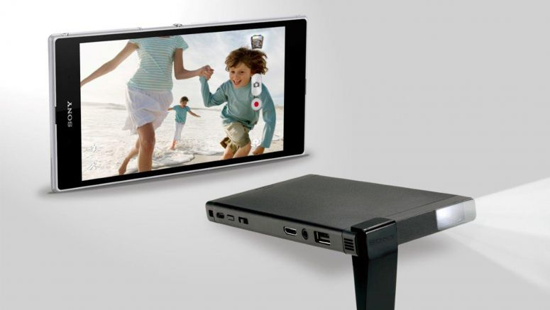 Sony's New Pico Mobile Projector is Big on Image Quality and Viewing Experience