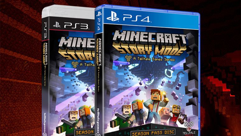 Sony Playstation : Minecraft: Story Mode Begins October 13th on PS4, PS3