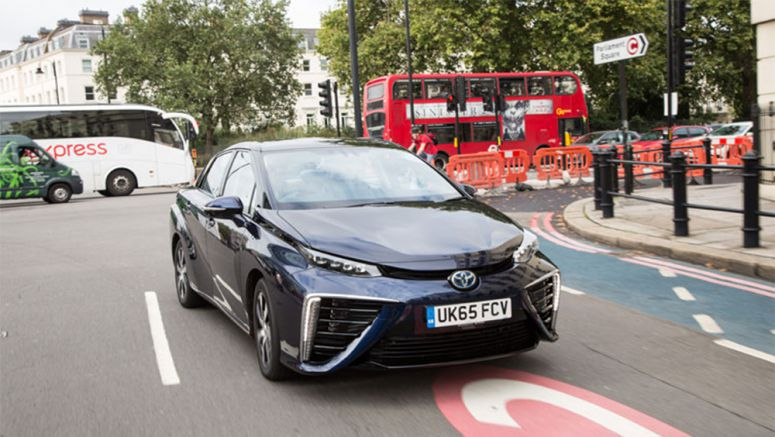 Toyota Mirai makes 65-plate debut in London