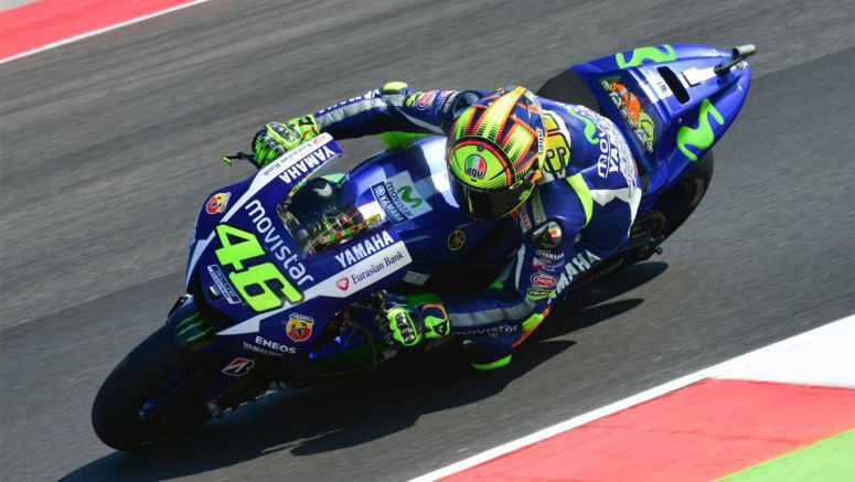 "Yamaha MotoGP : Rossi: ""Every race has its own story"""