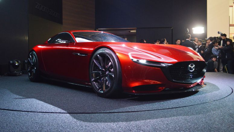 Mazda's Vision of the Future is Rotary Powered
