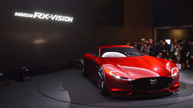 Mazda has no plans for an RX-9, despite ongoing rotary development