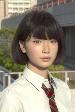 Saya, the Incredibly Realistic Computer-Generated Japanese Schoolgirl