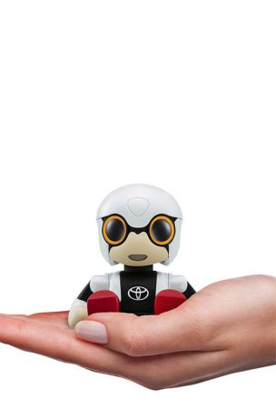 Toyota Kirobo Mini Robot Interacts With Humans