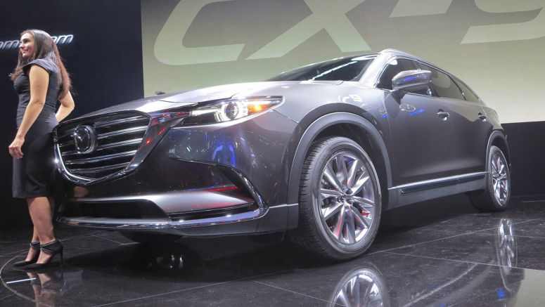 2015 Los Angeles Show : 2016 Mazda CX-9  Live Photos