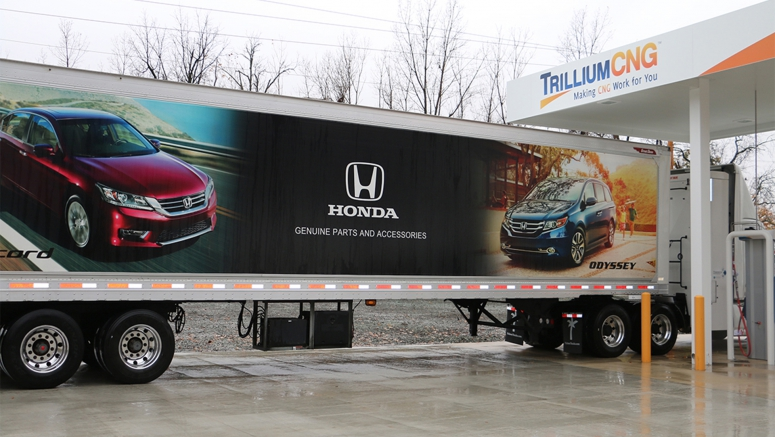 Honda Opens Compressed Natural Gas Fueling Station on Troy, Ohio Campus