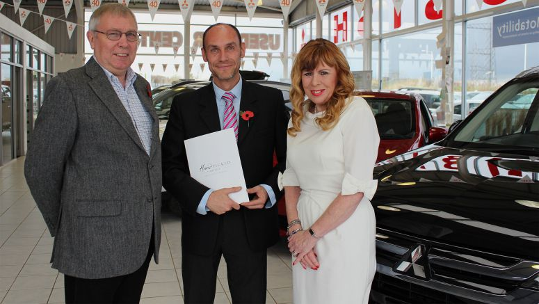 Customer Scoops A Luxury Break Thanks to Tees Valley Mitsubishi