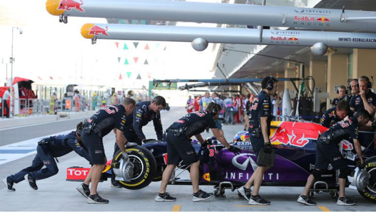 Infiniti Red Bull has agreement with an engine manufacturer for 2016