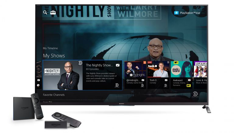 Sony : PlayStation Vue Coming to Amazon Devices Today