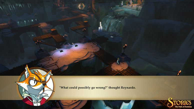 Sony : Stories: The Path of Destinies Has Treasure and Awesome Swords
