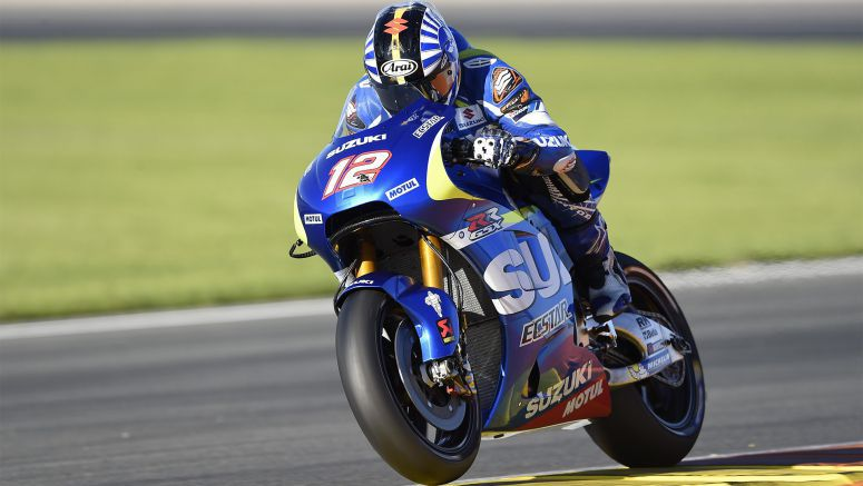 Suzuki MotoGP : First Treads With Michelin For Espargaro And Vinales
