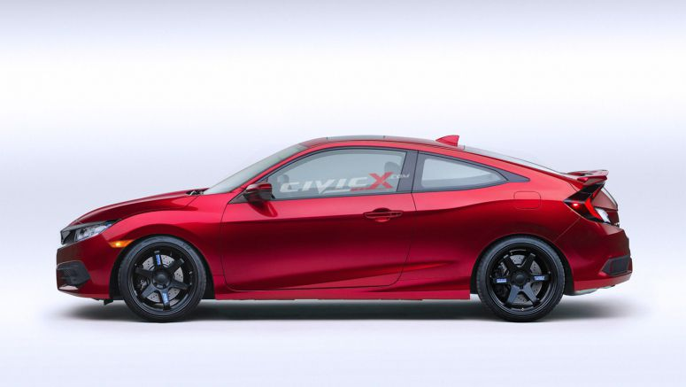 2016 Honda Civic Coupe Gets Tuned Dec 2015