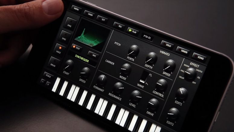 Video : KORG iDS-10 for iPhone - Introduction Movie