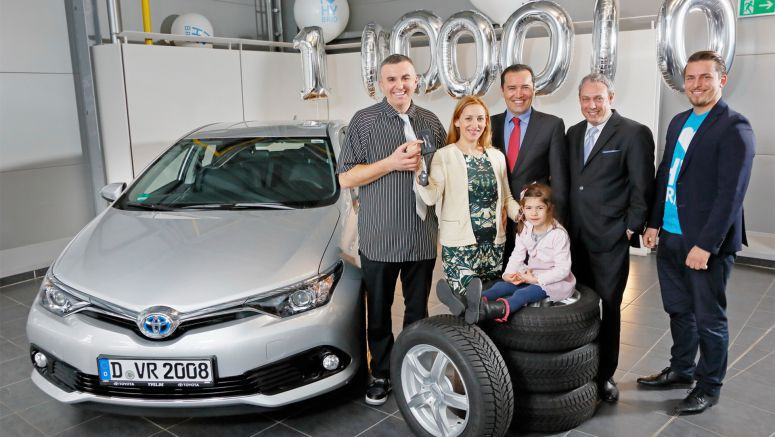Toyota Sells Its Millionth Hybrid In Europe