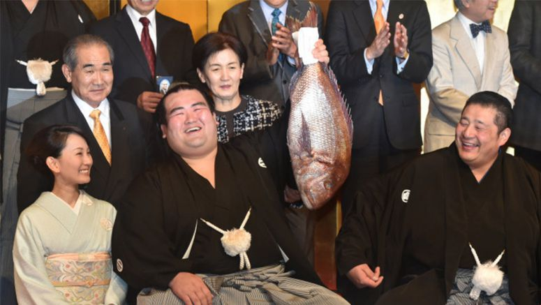 Update : Kotoshogiku's sumo tournament victory ends long run of foreign wrestler domination