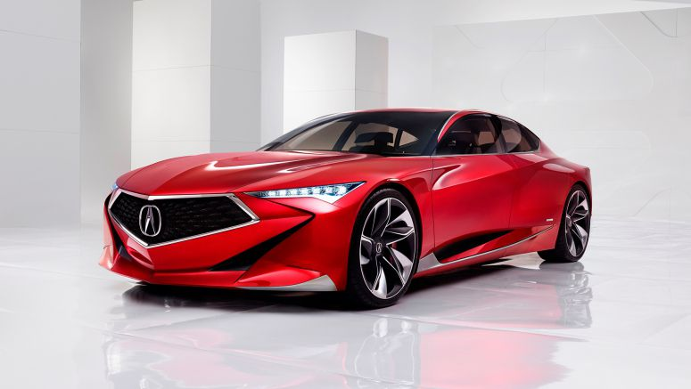 2016 Detroit Auto Show : Acura Precision Concept Points to Bold Future for Acura Design