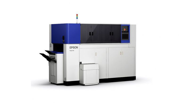 Epson pitches world's first recycling paper mill for the office