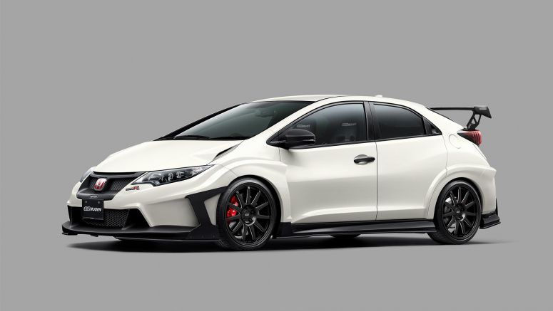 Honda : Tuners give new twist on Civic Type R at 2016 Tokyo Auto Salon