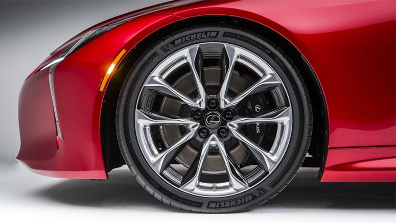 Next-Generation Michelin Run-Flat Tires to be Installed on Lexus LC 500