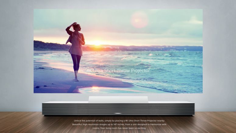 Sony Portable Ultra Short Throw Projector Unveiled