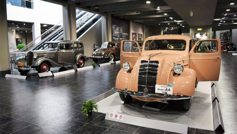 Revamped Toyota museum hits gas with exhibits of decades of historic cars