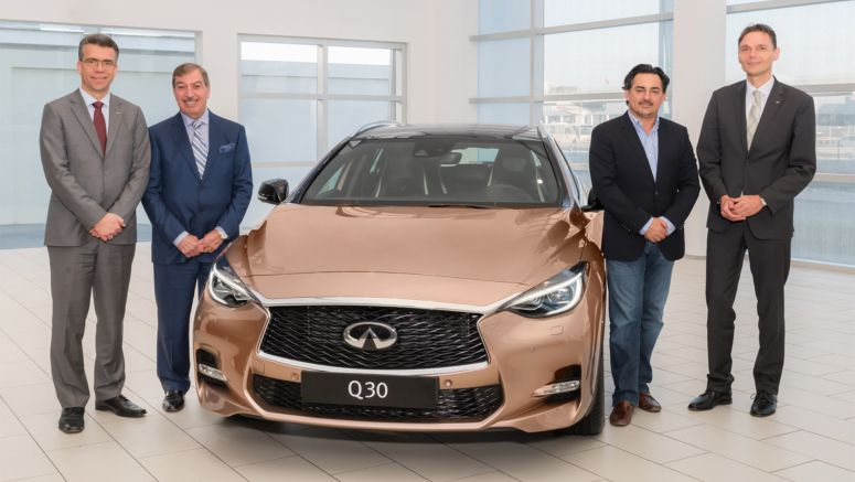 Infiniti president Roland Krueger visits the Middle East on commitment to region
