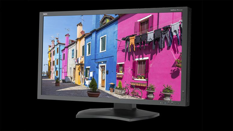 NEC Display New And Improved 32-inch UHD Monitor Features Option Slot Supporting 4K Inputs