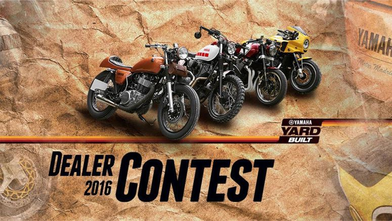 Yard Built Yamaha Dealer Contest 2016