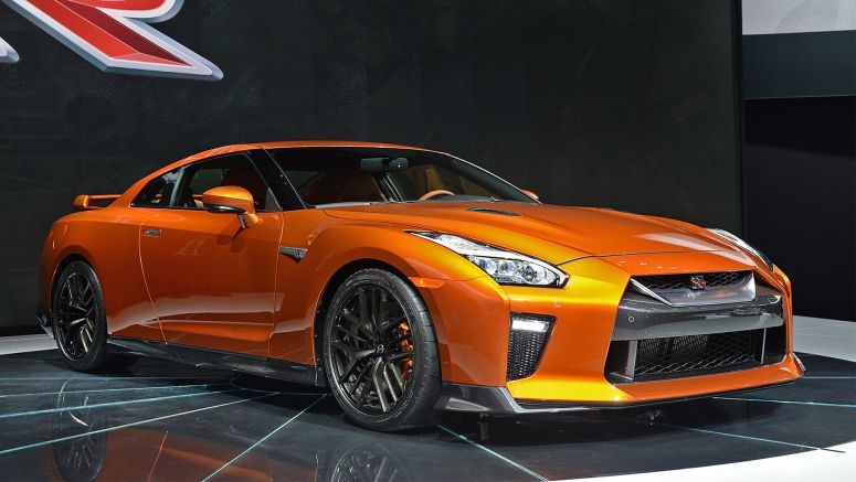 2016 New York Auto Show : 2017 Nissan GT-R