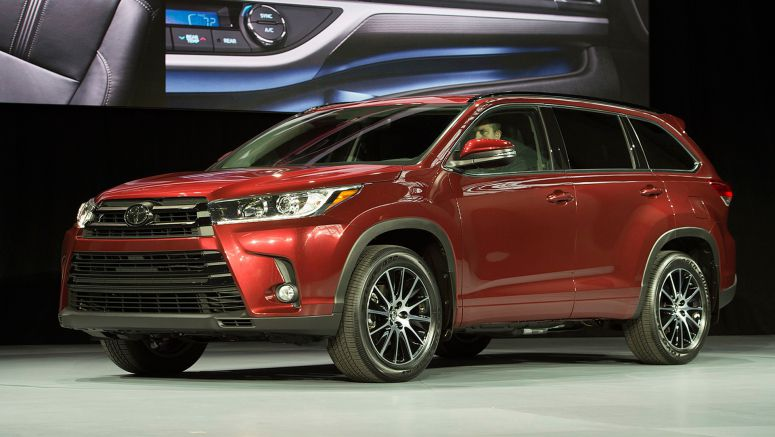 2016 New York Auto Show : 2017 Toyota Highlander