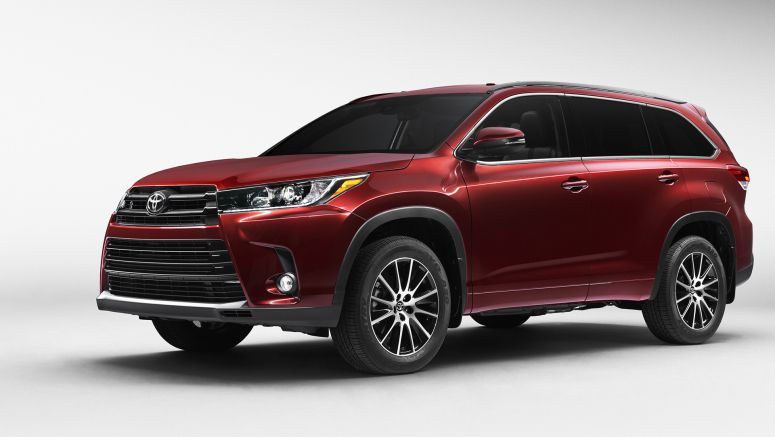 2017 Toyota Highlander to arrive at 2016 New York Motor Show