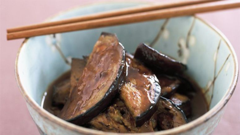 Eggplant with red miso recipe
